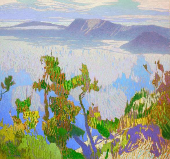 Michael Ferguson Acrylic Painting Vivid Shore