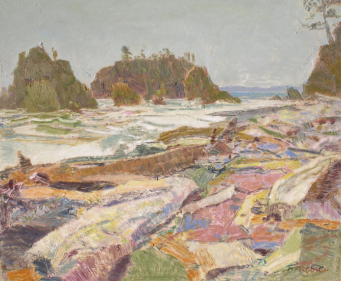 Michael Ferguson Oil Painting Ruby Beach
