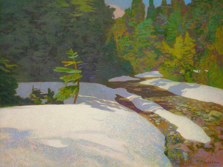 Michael Ferguson Acrylic Painting Just A Little Road