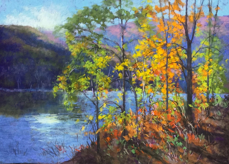 Pastel Julia Lesnichy Colors of october