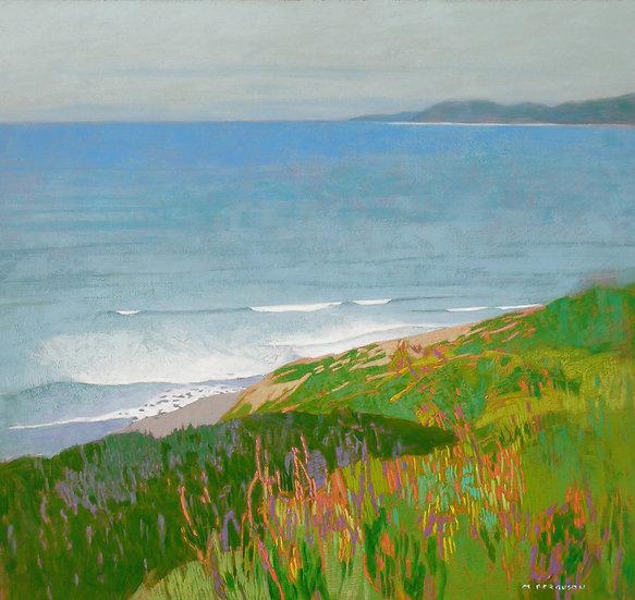Michael Ferguson Acrylic Painting Quiet Pacific I