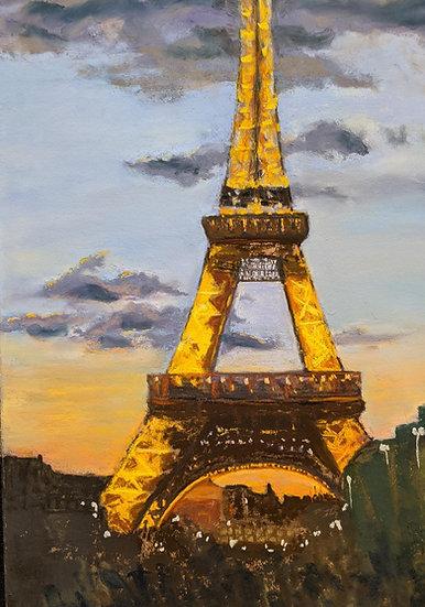 pastel Densie Hastings Eiffel Dream