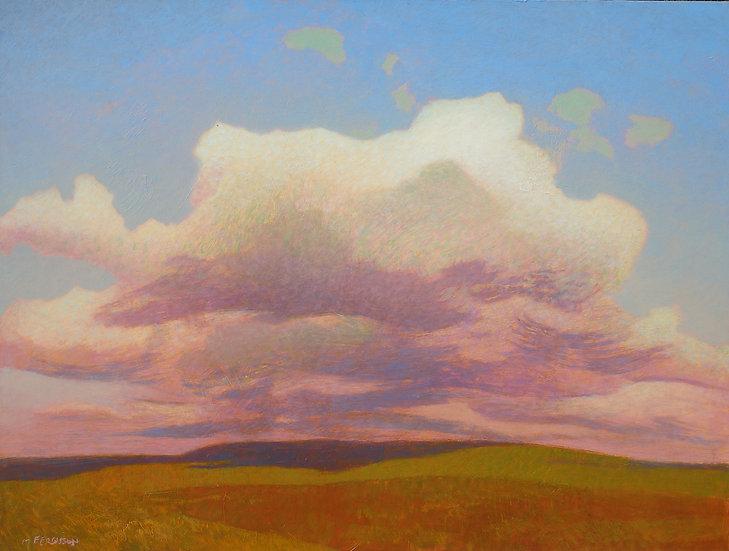 Michael Ferguson Acrylic Painting Ford Air View