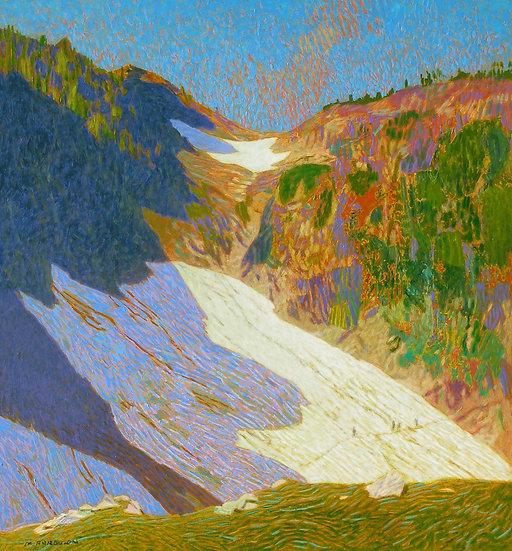 Michael Ferguson Acrylic Painting Four Hikers