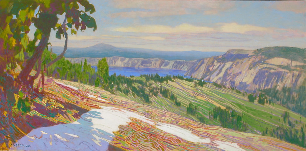 Michael Ferguson Acrylic Painting Dutto Ridge