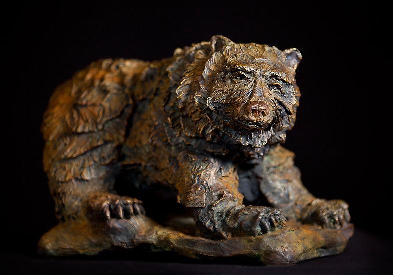 bronze sculpture bear Richard Heller
