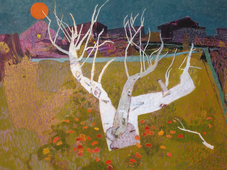 Michael Ferguson Acrylic Painting September Apples