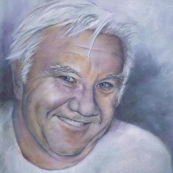 Cindy Daij Pastel Uncle John The Greatest Generation