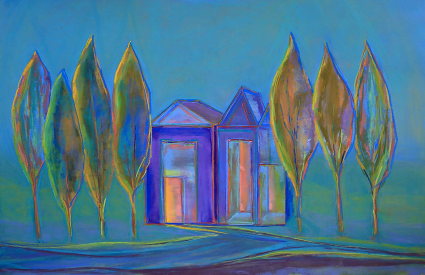 pastel carol woolford shelter in place one