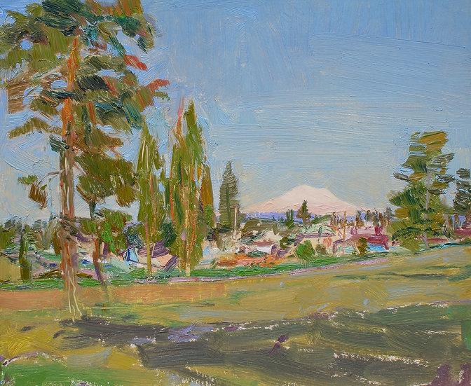 Michael Ferguson Oil Painting Alling Park