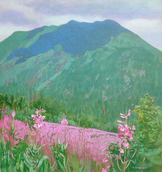 Michael Ferguson Acrylic Painting Alaskan summer