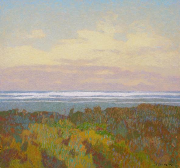 Michael Ferguson Acrylic Painting Quiet Pacific II