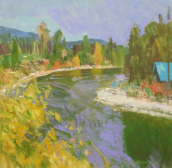 Michael Ferguson Oil Painting High Bend