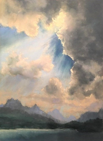 pastel Marlene Kingman Thunder Sky