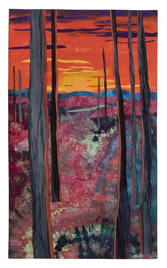 art quilt sunrise sunset Mary Arnold