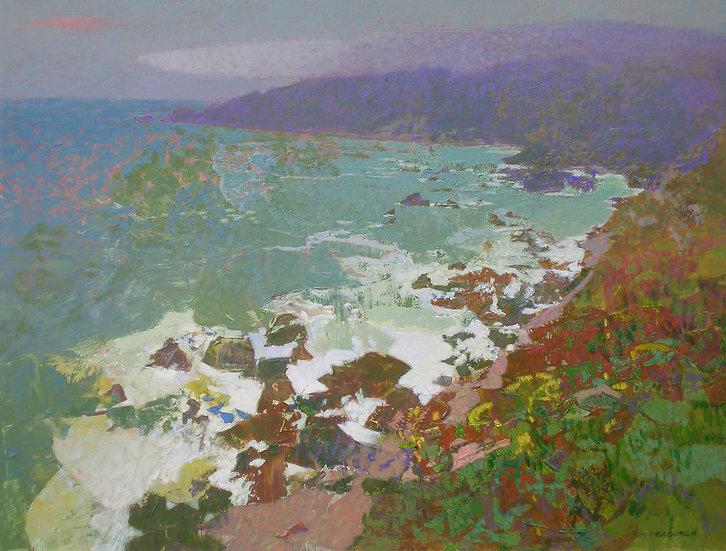 Michael Ferguson Acrylic Painting South Coast