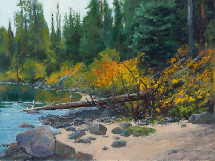 richard smith jenny lake oil painting