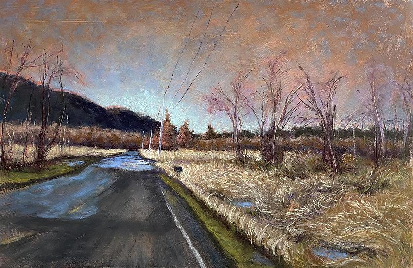 pastel Trish harding innis creek road II