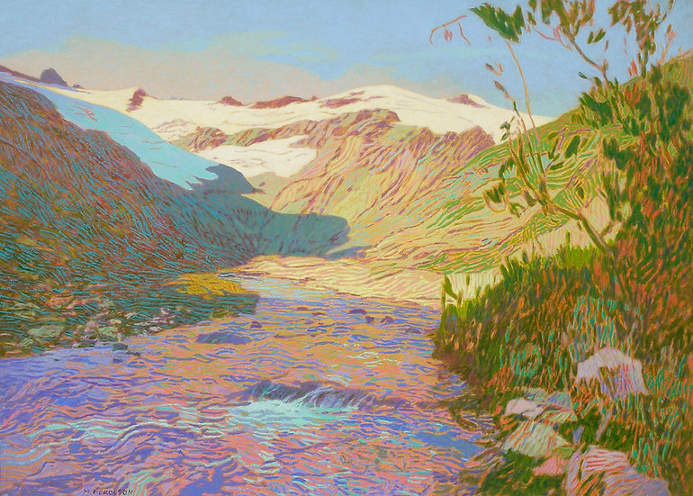 Michael Ferguson Acrylic Painting Upper Napeequa