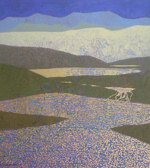 Michael Ferguson Acrylic Painting Mountain Melt