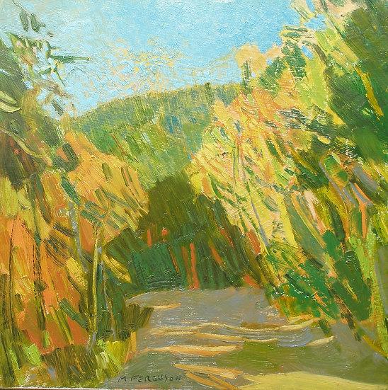 Michael Ferguson Oil Painting Tiger Mt Road