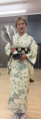 Kimono crème obi petits poids