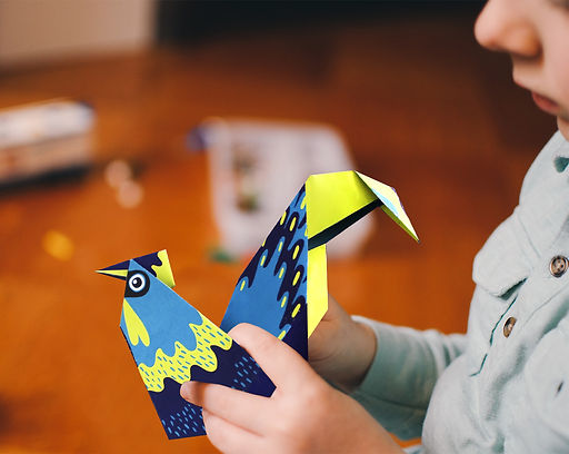 jeu ludique, origami, joli origami, pliages