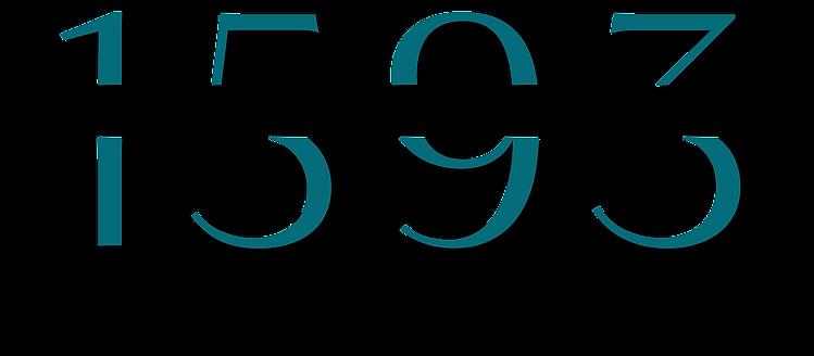 1593 Studios - Colored Logo - Large Stud