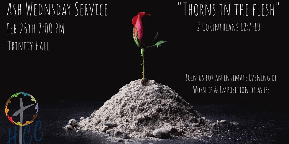 Ash Wednesday Service