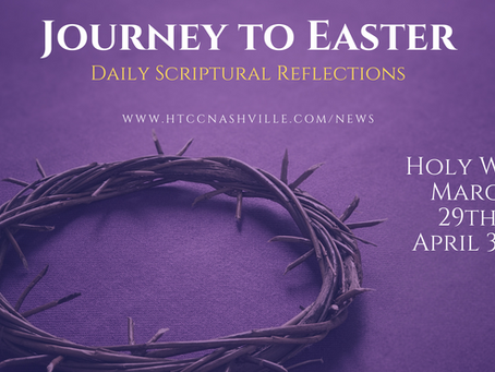 Journey to Easter: Daily Scriptural Reflections through Holy Week