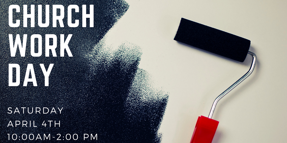 Church Work & Clean-up Day!
