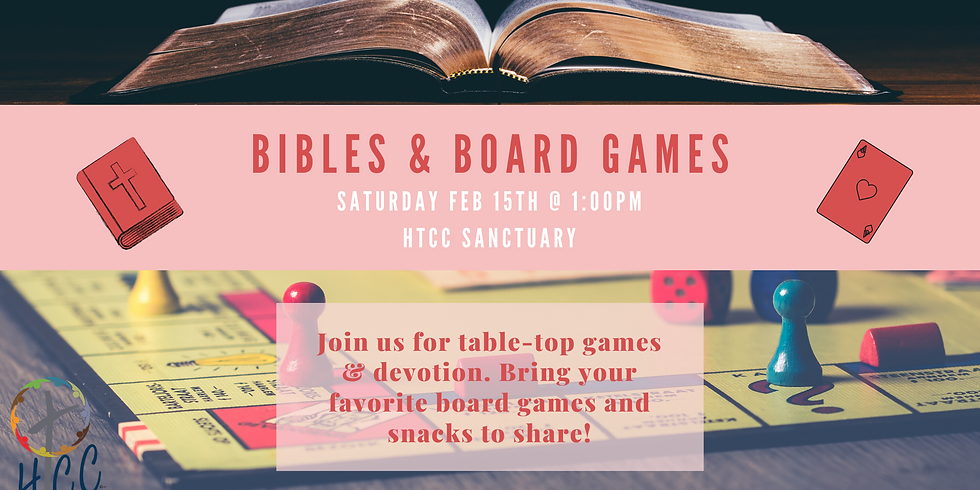 Bibles and Board Games