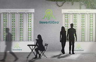 Render InvertiGro InvertiWall productive green wall