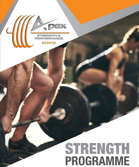 12 week strength training programme
