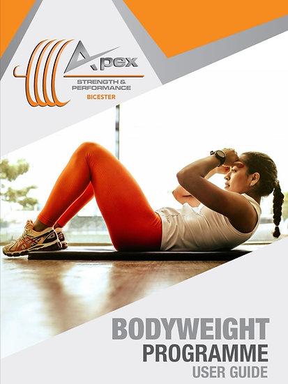 6 week bodyweight programme