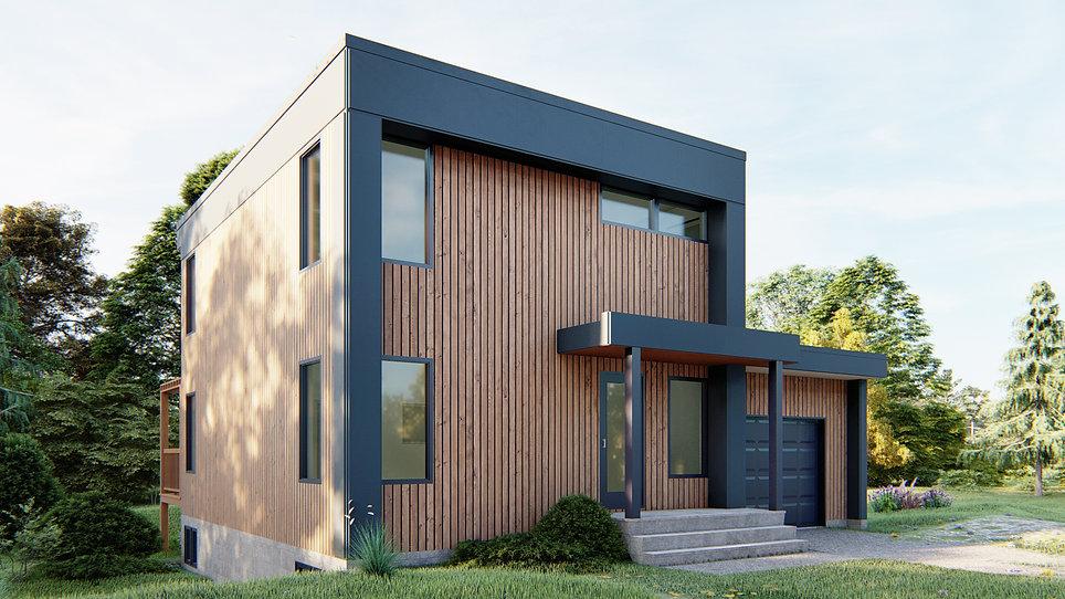 modele de maison estrie