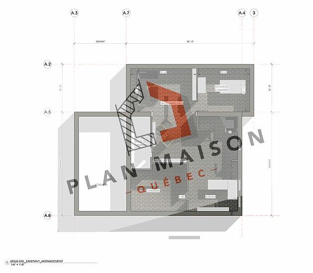 plan agrandissement maison chambly