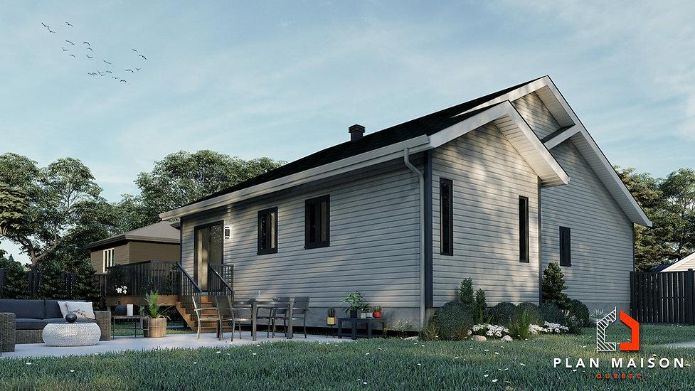 agrandissement bungalow