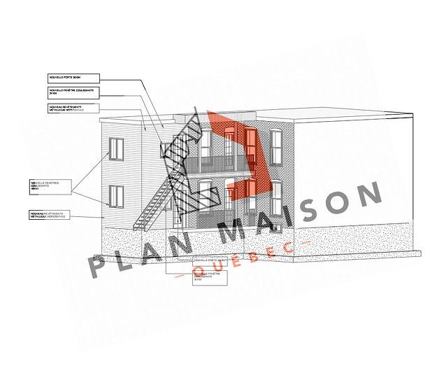 plan agrandissement maison trois rivieres