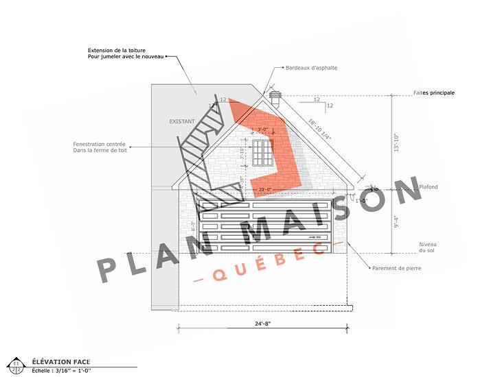 plan garage double belœil