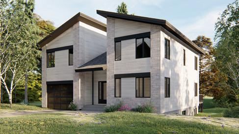 maison moderne alma