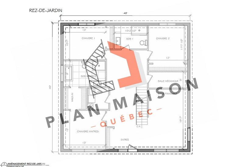 plan amenagement interieur maison quebec