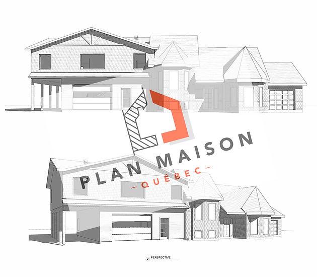 plan agrandissement maison dorval