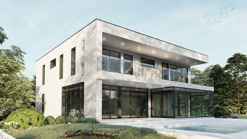 maison moderne magog