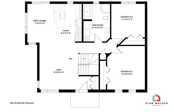 plan maison saint-georges