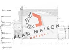 plan de maison avec garage sur le côté