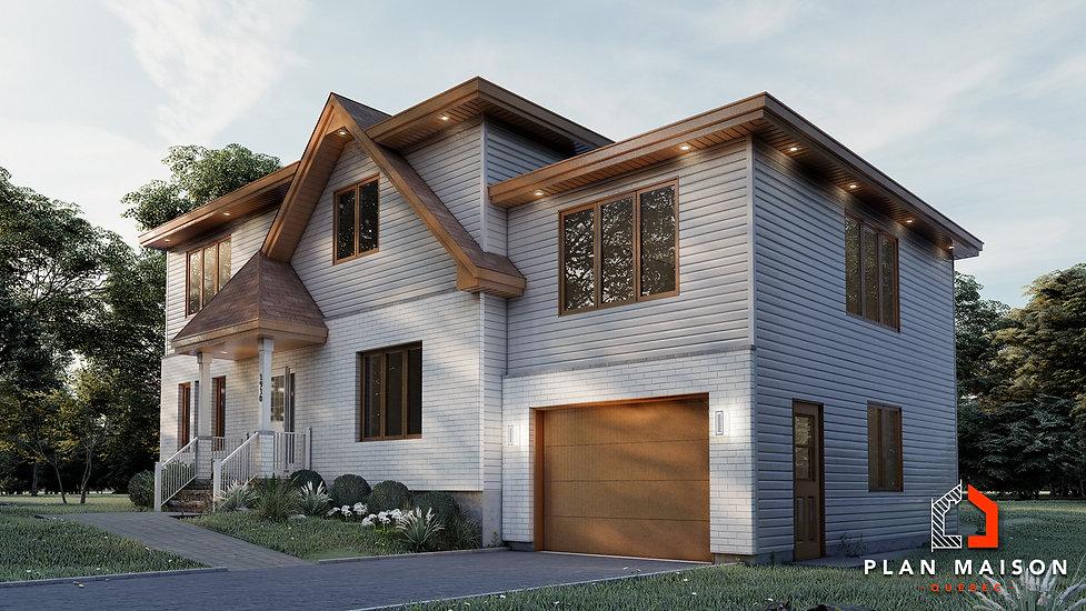 plan agrandissement maison brossard