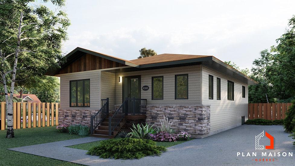 plan agrandissement maison beaupre
