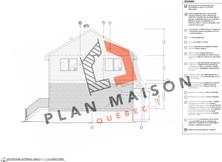 plan maison 2 etage terrebonne
