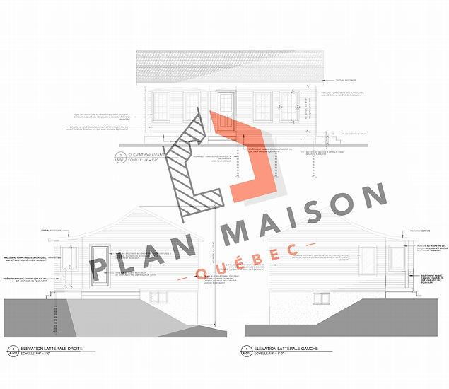 plan agrandissement maison boisbriand